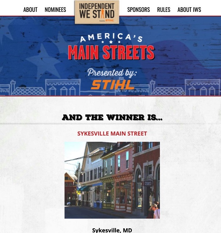Best Main Street in America 2020